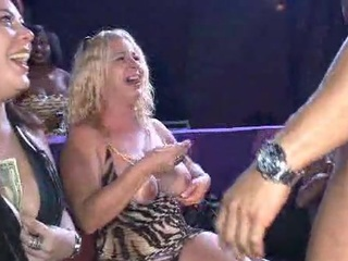 Big Tits Mature Party Stripper