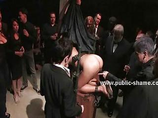 Sex Slave In Front Of Pervert Public