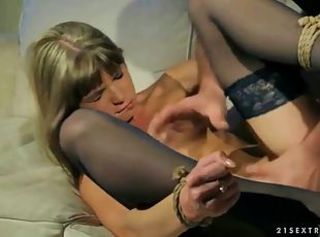 Bondage Forced Hardcore Stockings Teen