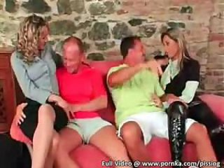 Babe European Groupsex Swingers
