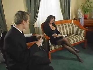 Amazing Big Tits Legs Mature Old and Young Stockings