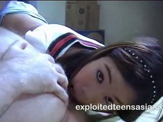 Amateur Asian Interracial Licking Teen