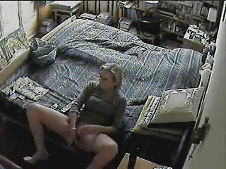 Masturbating Mature Voyeur Wife