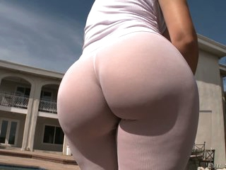 Krissy Lynn and other women show off their big asses