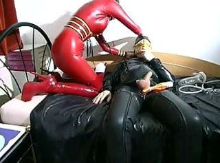 Torturing a slave's cock