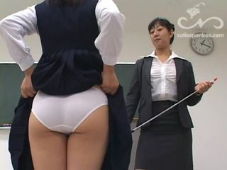 Panty School Spanking Teacher