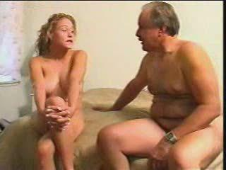 Chubby Old Man Fucked Blonde Teen