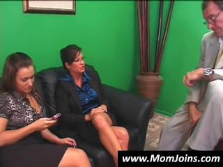 Daughter Hardcore MILF Mom Threesome