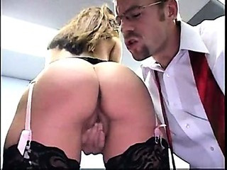 Ass Erotic MILF Office Secretary Stockings