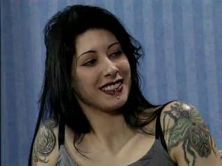 Brunette Girl With Tattooes And Piercings Gets Fucked Hard
