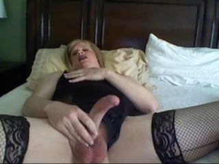 Carli Cumming During Phone Sex with a Black Man