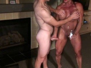 Sexy Muscle Worship Boy Toy in Training!