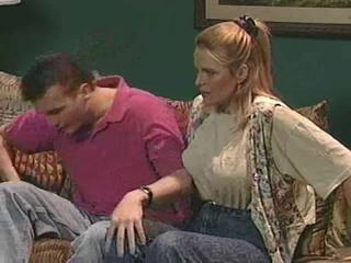 Lesbians get it on in the kitchen Sex Tubes