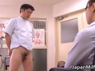 Asian Doctor Japanese MILF Small cock