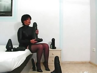 Dildo MILF Stockings Toy
