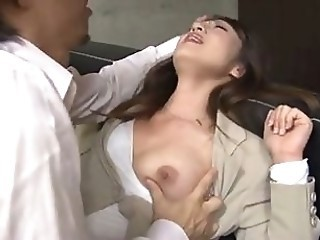 Japanese Secretary molested - Part 1