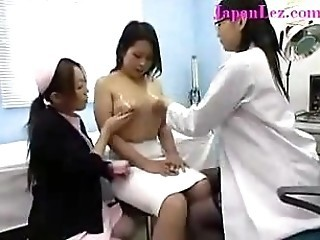 Big Breasted JapaneseGirl at Doctors Office