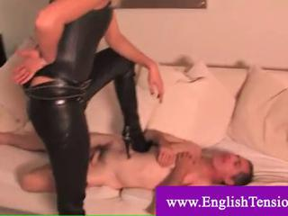 Submissive husband slave queened by his m ...