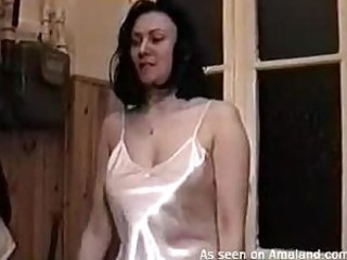 Sexy slimy bitch shoved with cock in..