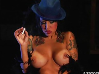 Reagan Reese the hot smoking babe toys..
