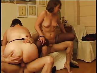 Two Old Ladies Banged By Younger Men