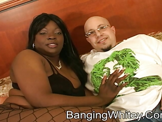 White Pecker And Fat Black Whore