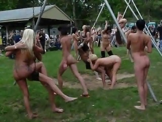 Nudist Party Public