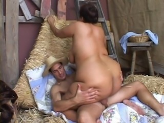 BBW Asian Ginger takes Cock