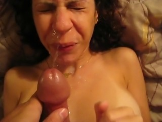 MY WIFE IS SUCKING ME PART 1