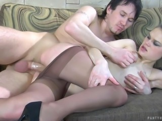 Mix of Stocking Sex videos from Pantyhose Tales