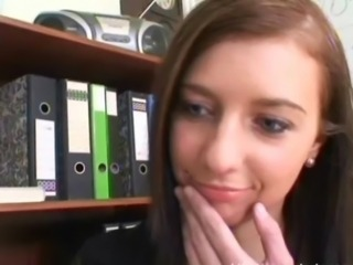 Cute Office Secretary Teen