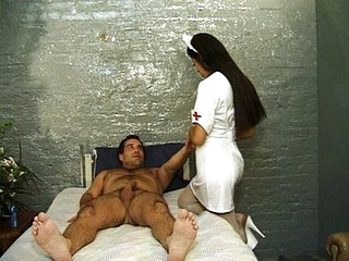 Latina MILF Nurse Uniform