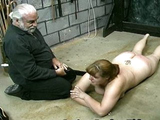 Whipping Kimber ass spanking