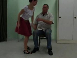 Spanked in a petticoat