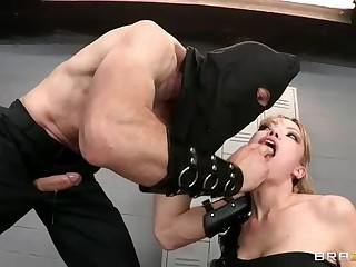 Maya Hills ass to mouth punishment