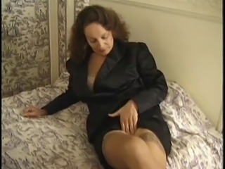 Amateur Amazing Hairy Mature MILF Stockings