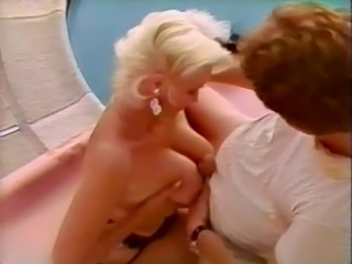 Big Tits Blonde MILF Natural Pool Tits job Vintage