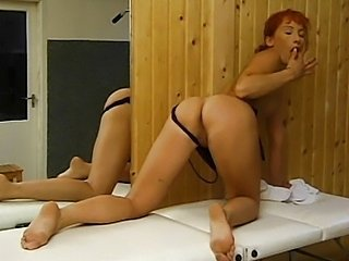 Gym is the place to fuck a redhead