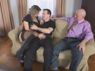 Cuckold MILF Stockings Wife