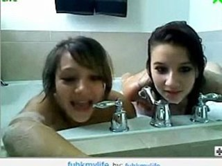 Bathroom Lesbian Teen Webcam