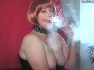 MILF Piercing SaggyTits Smoking