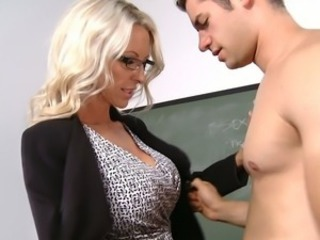 Amazing Glasses MILF School Teacher