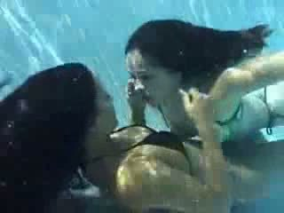 Hot Lesbians Going At It Underwater