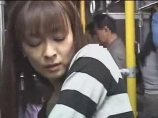 Japanese MILF Groped and Fucked By Complete Stranger In Subway