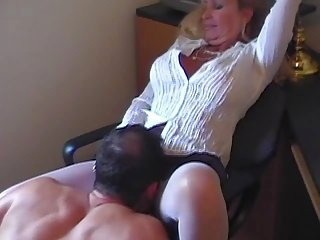 Hot Busty Blonde Granny Cougar Julia