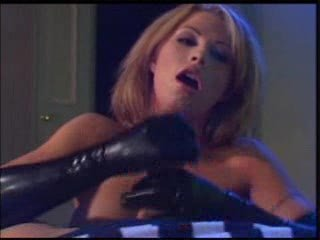 Handjob Latex MILF
