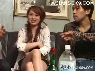 Asian Babe Cute Drunk Japanese
