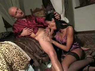 Blowjob European Italian MILF Stockings