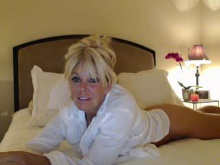 Blonde Milf Webcam Tease -5