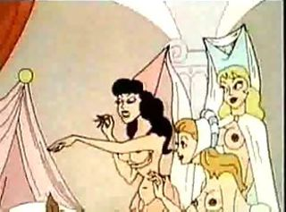classic erotic Cartoon 3